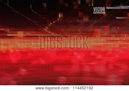 red fiery background