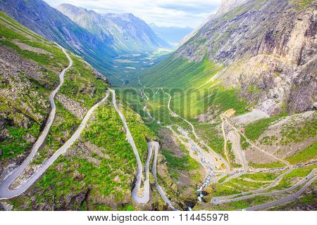 The View From The Height Of The Trollstigen
