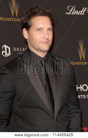 BEVERLY HILLS, CA - JAN. 10: Peter Facinelli arrives at the Weinstein Company and Netflix 2016 Golden Globes After Party on Sunday, January 10, 2016 at the Beverly Hilton Hotel in Beverly Hills, CA.