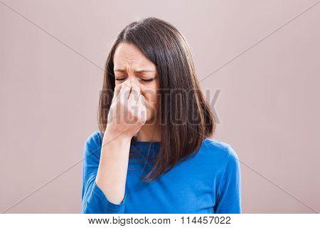 Pain in sinus