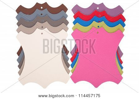 Samples Of An Imitation Leather
