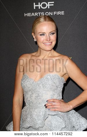 BEVERLY HILLS, CA - JAN. 10: Malin Akerman arrives at the Weinstein Company and Netflix 2016 Golden Globes After Party on Sunday, January 10, 2016 at the Beverly Hilton Hotel in Beverly Hills, CA.