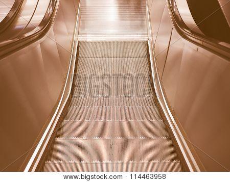 Escalator Stair Vintage