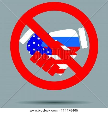 Ban sign cooperation usa and russia
