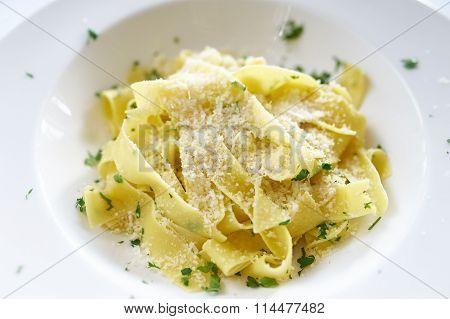 Fettucine Alfredo Pasta