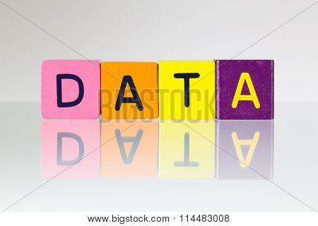 Data - An Inscription From Children's Blocks