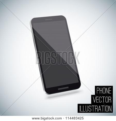 Realistic smart phone vector eps 10