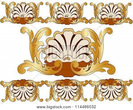 Classic royal gold card