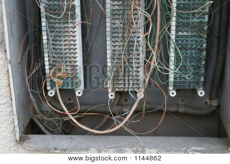 Vintage Electrical Circuit Board