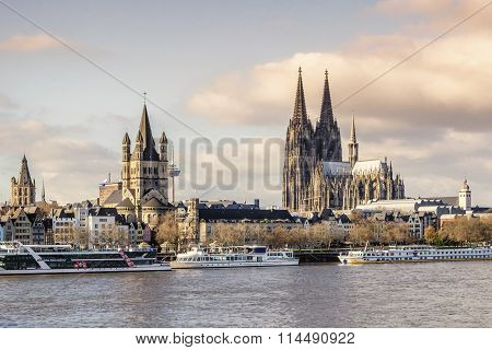 Cologne Panorama.