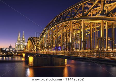 Cologne Cathedral View.