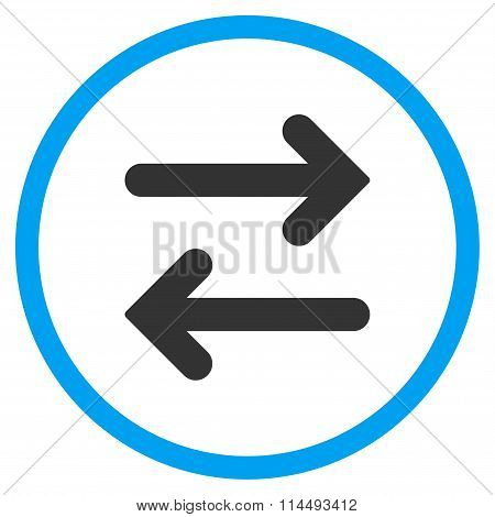 Flip Horizontal Flat Icon