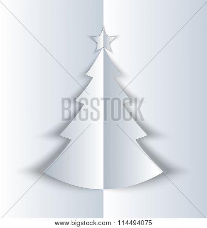 Simple Folded Christmas Tree