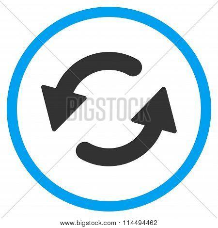 Refresh Ccw Flat Icon