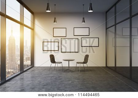 Office In A Skyscraper