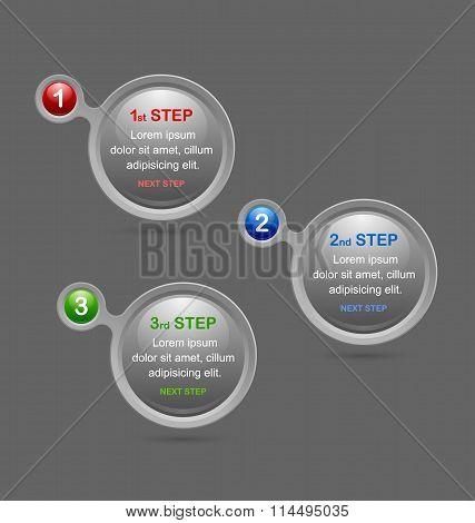 Progress Steps Design Elements
