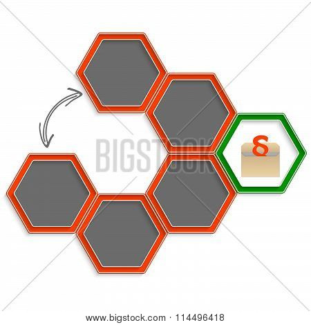Hexagons And Paragraph