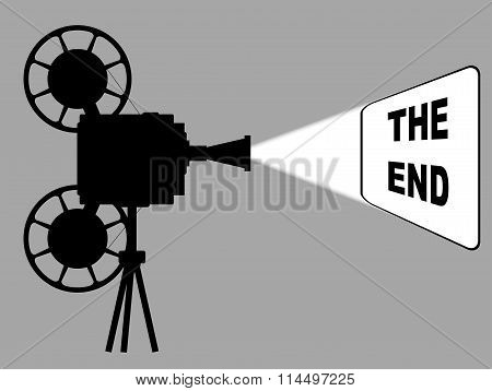 Movie Cine Projector The End