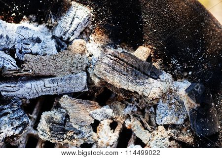 Ash From Wood Fire