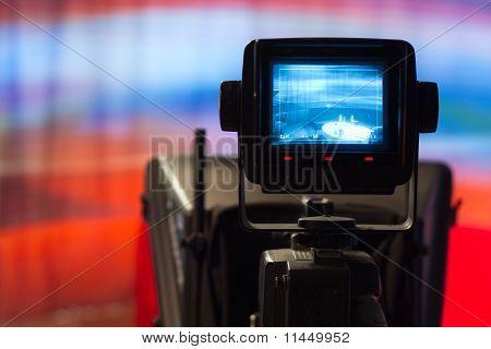 Visor de câmera de vídeo