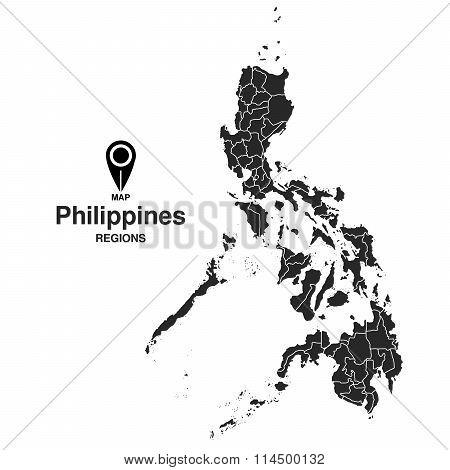 Map Of Philippines Regions