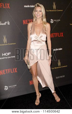 BEVERLY HILLS, CA - JAN. 10: Kelly Rohrbach arrives at the Weinstein Company and Netflix 2016 Golden Globes After Party on Sunday, January 10, 2016 at the Beverly Hilton Hotel in Beverly Hills, CA.