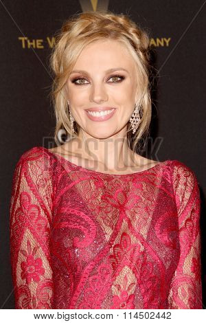 BEVERLY HILLS, CA - JAN. 10: Bar Paly arrives at the Weinstein Company and Netflix 2016 Golden Globes After Party on Sunday, January 10, 2016 at the Beverly Hilton Hotel in Beverly Hills, CA.