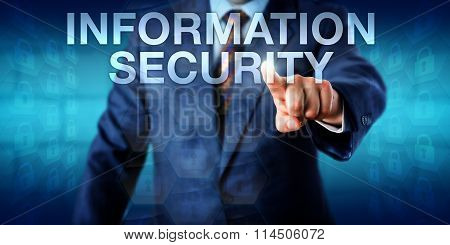 Consultant Touching Information Security Onscreen