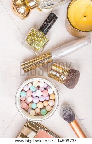 Glamour Chic Feminine Cosmetic Picture