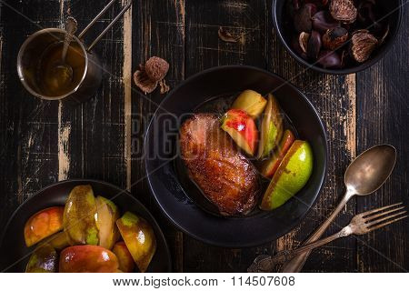 Roasted Duck Breast With Golden Crispy Skin
