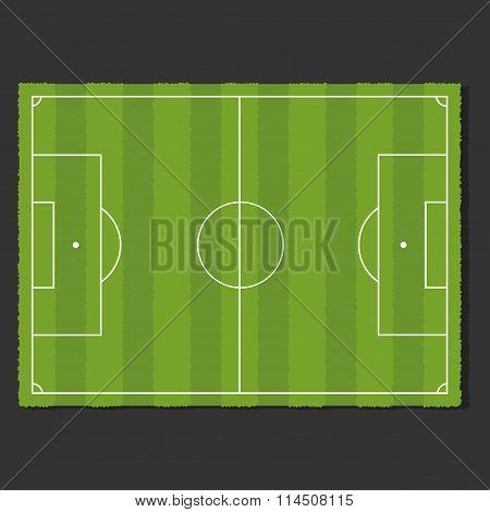 A Realistic Soccer Field