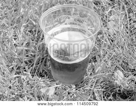 Black And White Beer