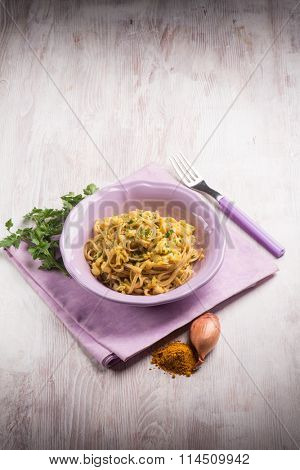 pasta with fish ragout