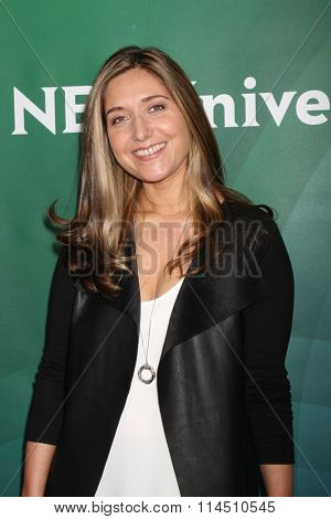 LOS ANGELES - JAN 14:  Sarah Prevette at the NBCUniversal Cable TCA Press Day Winter 2016 at the Langham Huntington Hotel on January 14, 2016 in Pasadena, CA
