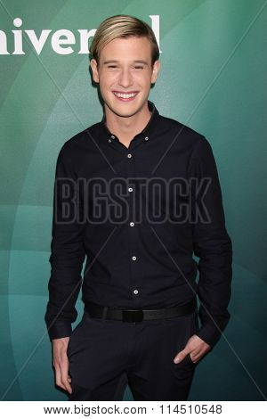 LOS ANGELES - JAN 14:  Tyler Henry at the NBCUniversal Cable TCA Press Day Winter 2016 at the Langham Huntington Hotel on January 14, 2016 in Pasadena, CA