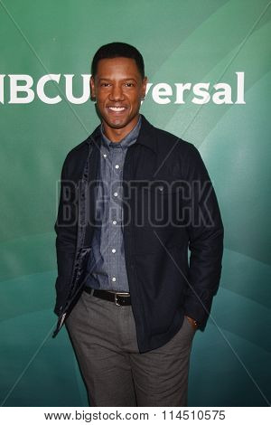 LOS ANGELES - JAN 14:  Tory Kittles at the NBCUniversal Cable TCA Press Day Winter 2016 at the Langham Huntington Hotel on January 14, 2016 in Pasadena, CA