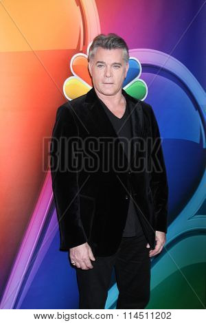 LOS ANGELES - JAN 13:  Ray Liotta at the NBCUniversal TCA Press Day Winter 2016 at the Langham Huntington Hotel on January 13, 2016 in Pasadena, CA