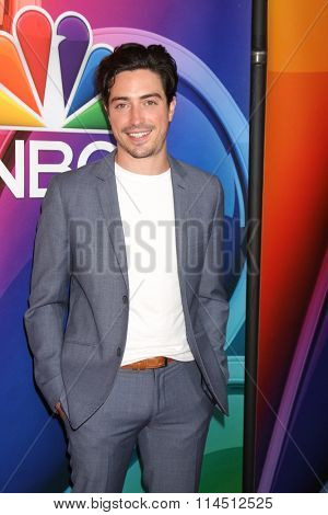 LOS ANGELES - JAN 13:  Ben Feldman at the NBCUniversal TCA Press Day Winter 2016 at the Langham Huntington Hotel on January 13, 2016 in Pasadena, CA