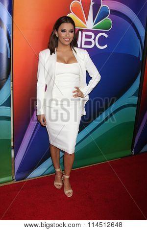 LOS ANGELES - JAN 13:  Eva Longoria at the NBCUniversal TCA Press Day Winter 2016 at the Langham Huntington Hotel on January 13, 2016 in Pasadena, CA