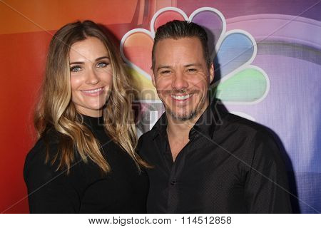 LOS ANGELES - JAN 13:  Bre Blair, Michael Raymond-James at the NBCUniversal TCA Press Day Winter 2016  at the Langham Huntington Hotel on January 13, 2016 in Pasadena, CA