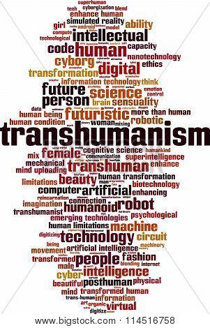 Transhumanism Word Cloud
