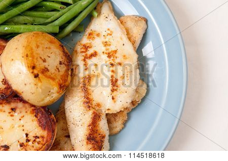Sole Fillet With Potatoes