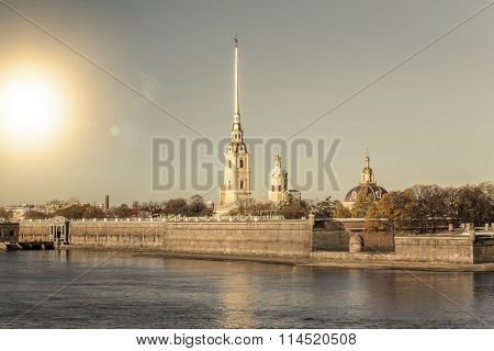 Peter and Paul Fortress, St. Petersburg