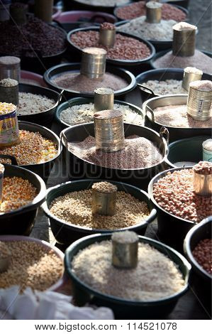 Asia East Timor Timor Leste Dili Market