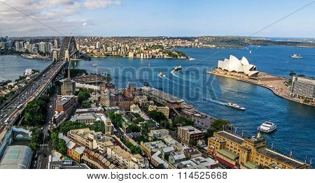Sydney From Above The Rocks