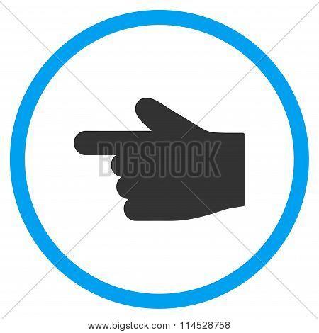Left Index Finger Icon