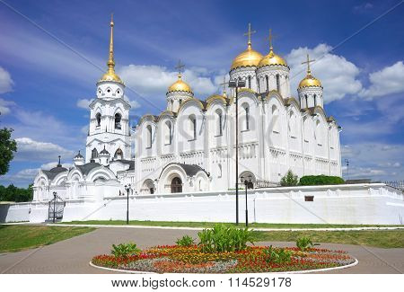 Assumption cathedral at Vladimir in summer, Russia
