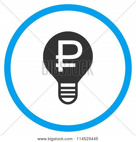 Rouble Bulb Icon