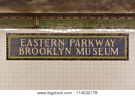 Eastern Parkway Brooklyn Museum Subway Stop