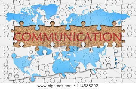 Jigsaw Puzzle Reveal  Word Communication